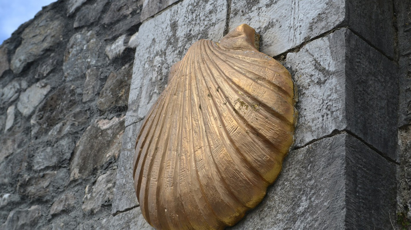 Camino de Santiago shell, Spain