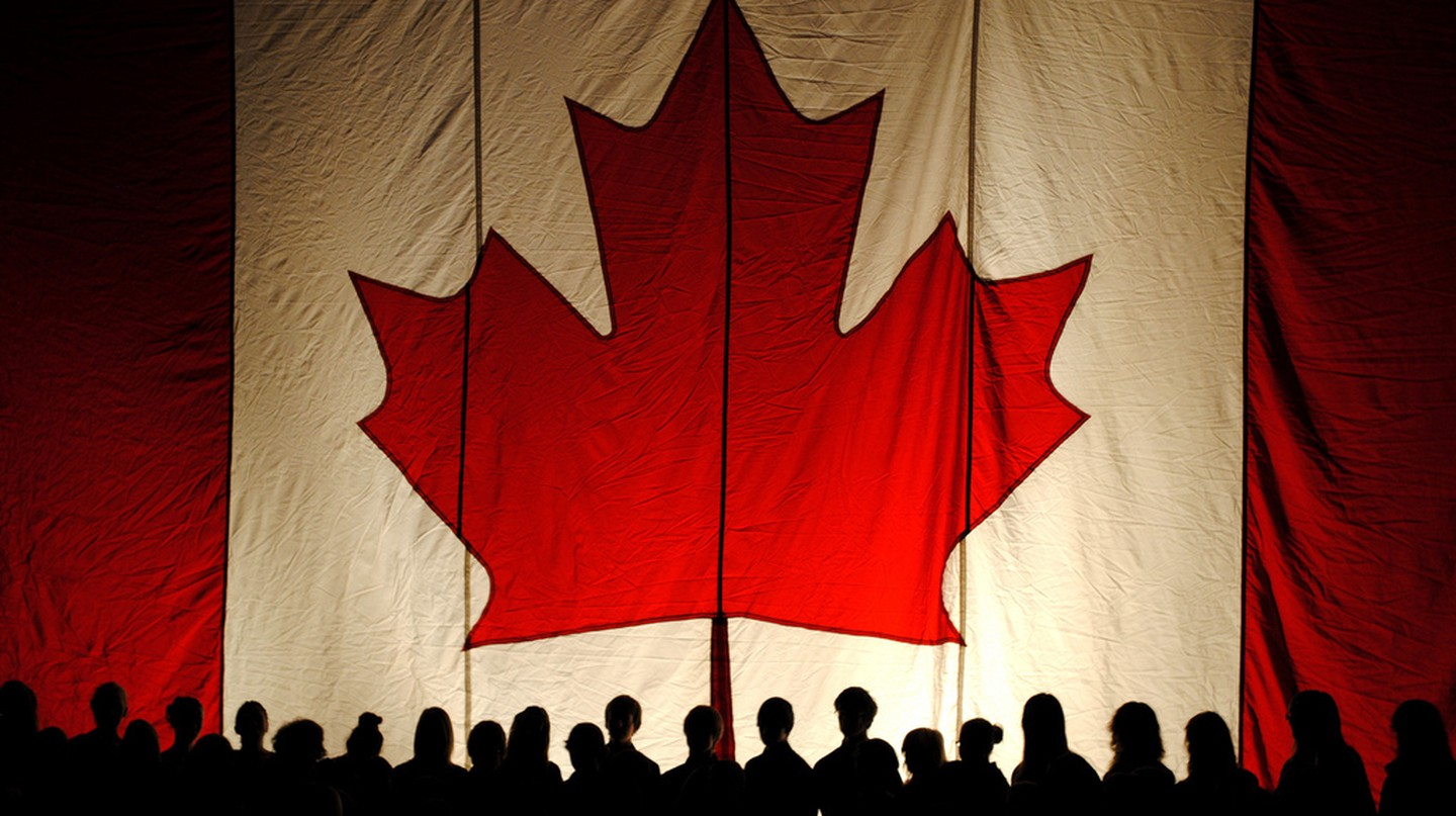 The Canadian flag | © Brandon Giesbrecht / Flickr