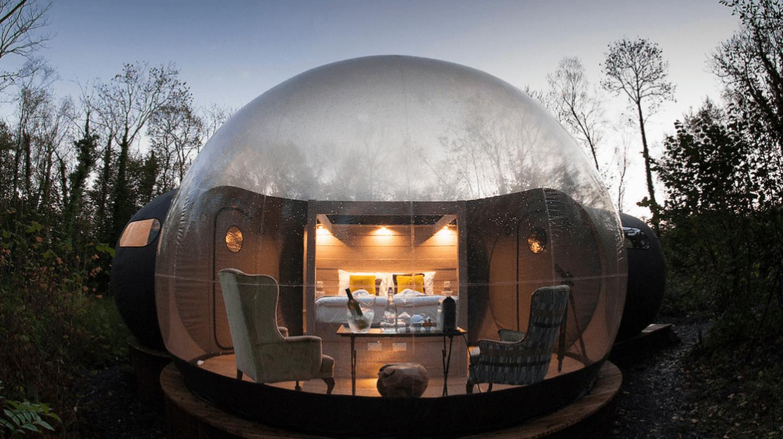 Finn Lough Bubble Domes | Image courtesy of Finn Lough