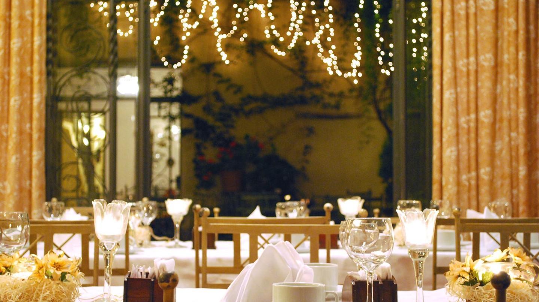 Dining area of Hotel del Antiguo Convento | Courtesy of Hotel del Antiguo Convento