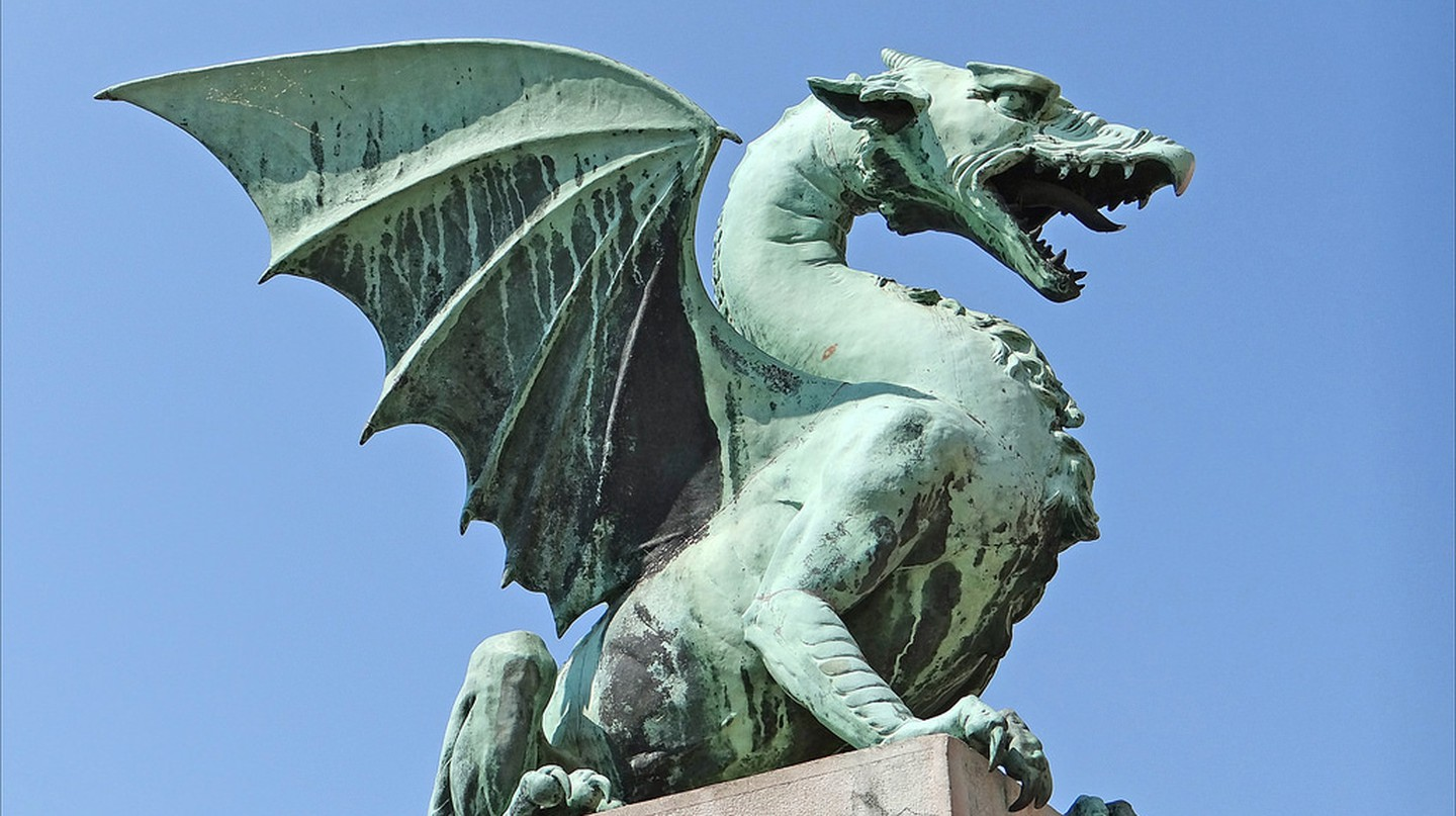 Ljubljana Dragon│© Jean-Pierre Dalbéra /Flickr