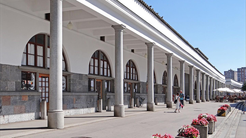 Ljubljana Central Market│©Jean-Pierre Dalbéra-Flickr