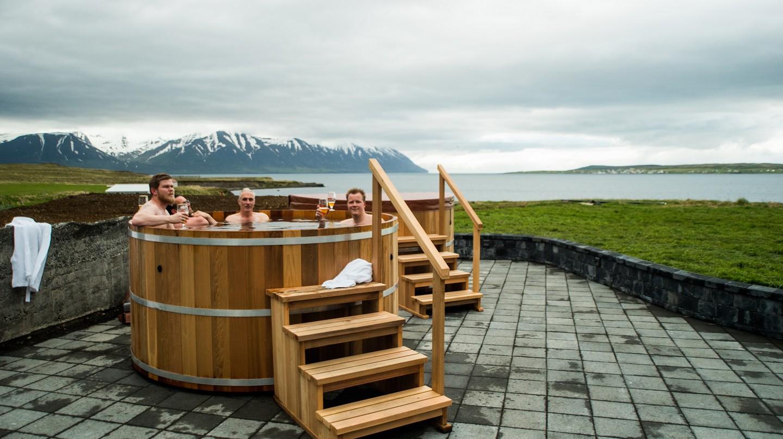 | Courtesy of Bjórböðin - The Beer Spa