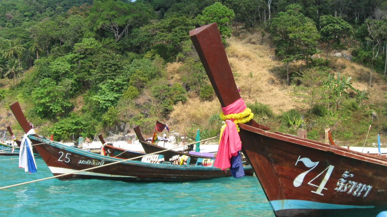 Thailand Long Tail Boats | © Natasha Bene
