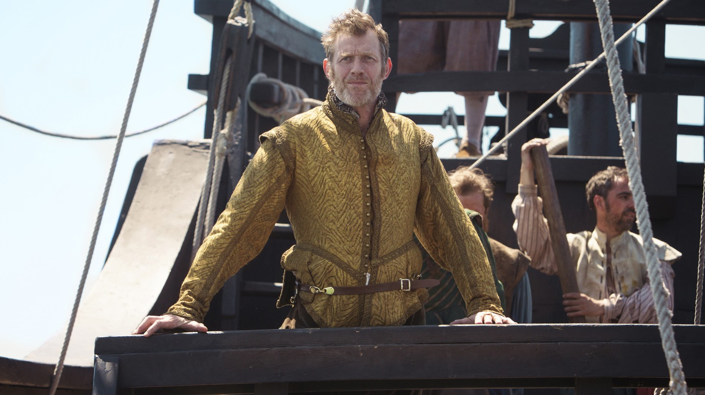 Jason Flemyng as Yeardley    © Carnival Film and Television Limited 2017/Kerry Brown