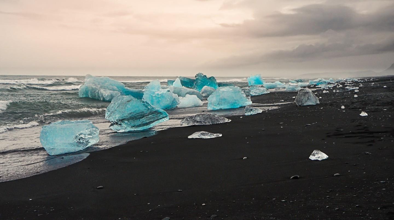 Blue growler- Jökulsárlón | © Theo Crazzolara/Flickr