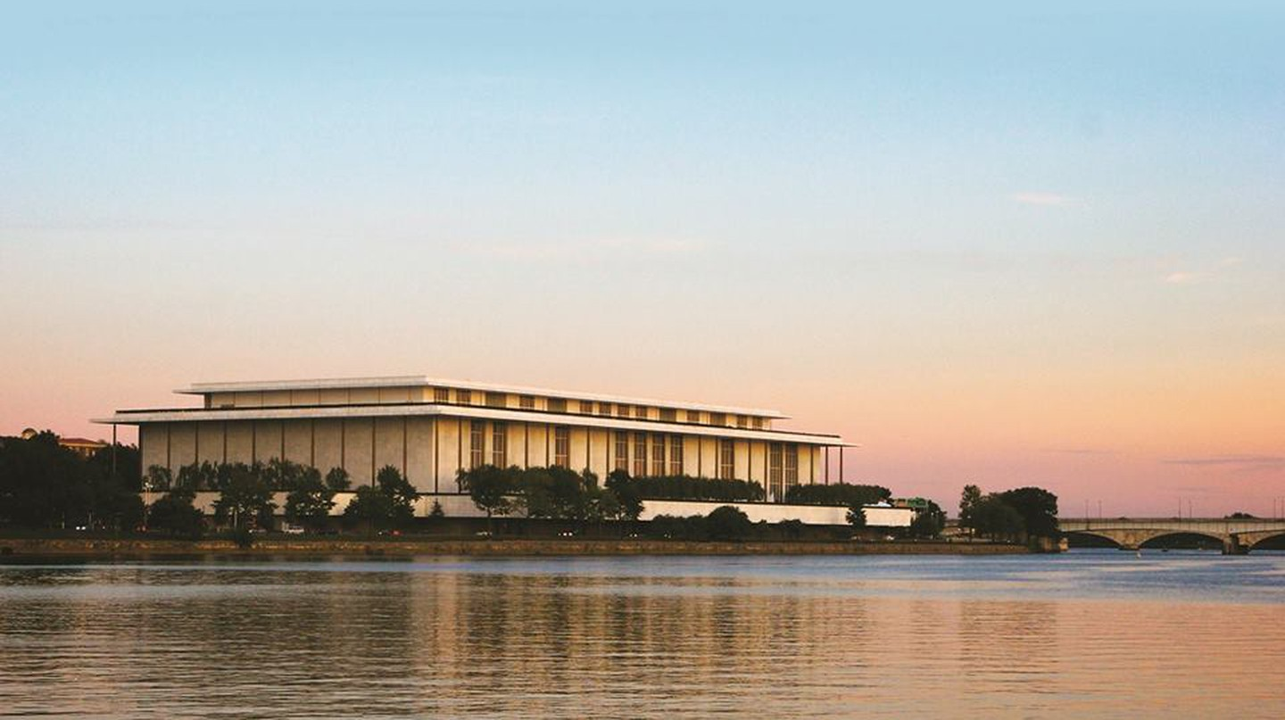 Kennedy Center at Dusk   Courtesy of the Kennedy Center (Photo by Regis Vogt)