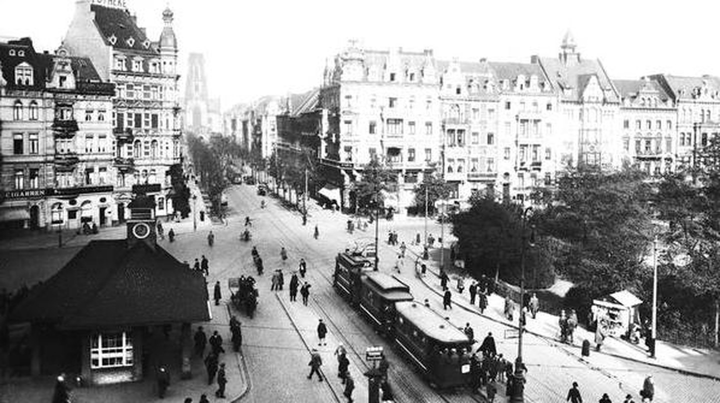 Ebertplatz, Cologne in 1910, via Wikimedia Commons