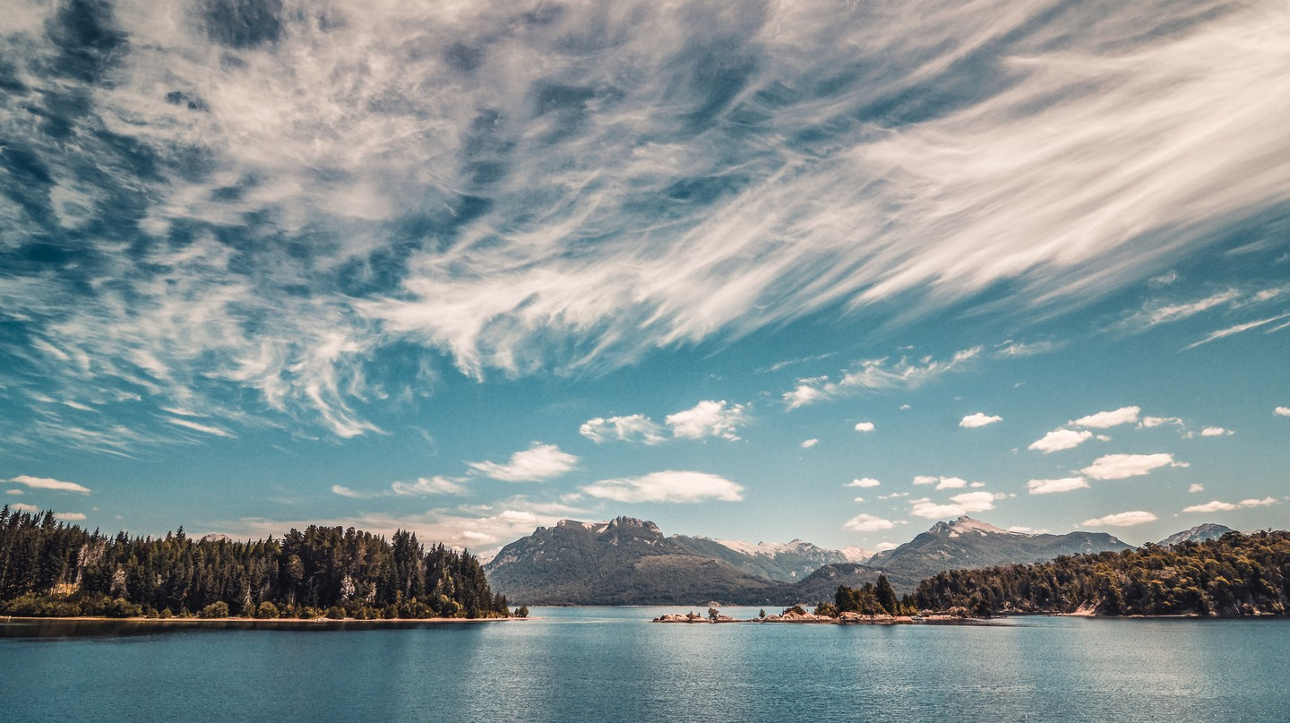 Lake Nahuel Huapi, one of the lakes that form a part of the Seven Lakes route   © Emilio Küffer/Flickr