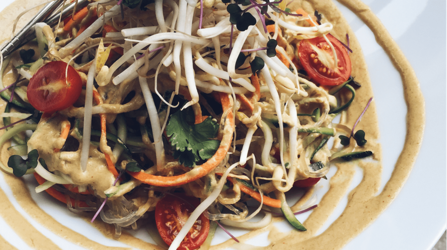 Raw Taiwanese Cold Noodle | © Plants Eatery