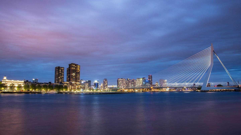 Rotterdam's skyline | © pixabay