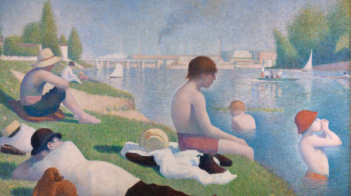 'Bathers at Asnières' by Georges Seurat | WikiCommons