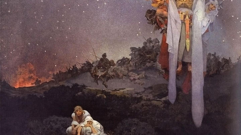 The Slav Epicby Alphonse Mucha (1912) |©Jklamo / Wikimedia Commons