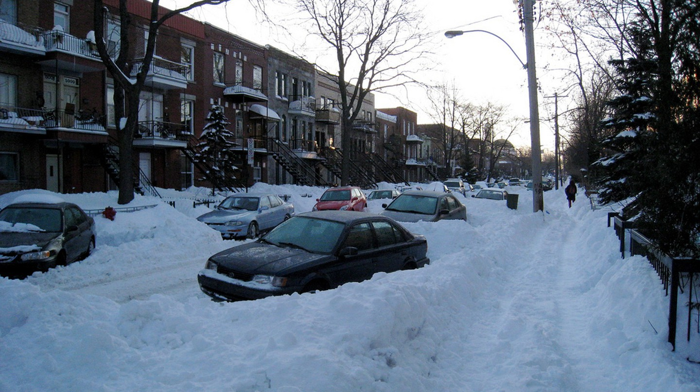 Snowy Montreal   © Kyle Taylor / Flickr