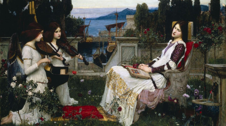 John William Waterhouse, 'Saint Cecilia' (1895) | Wikimedia Commons