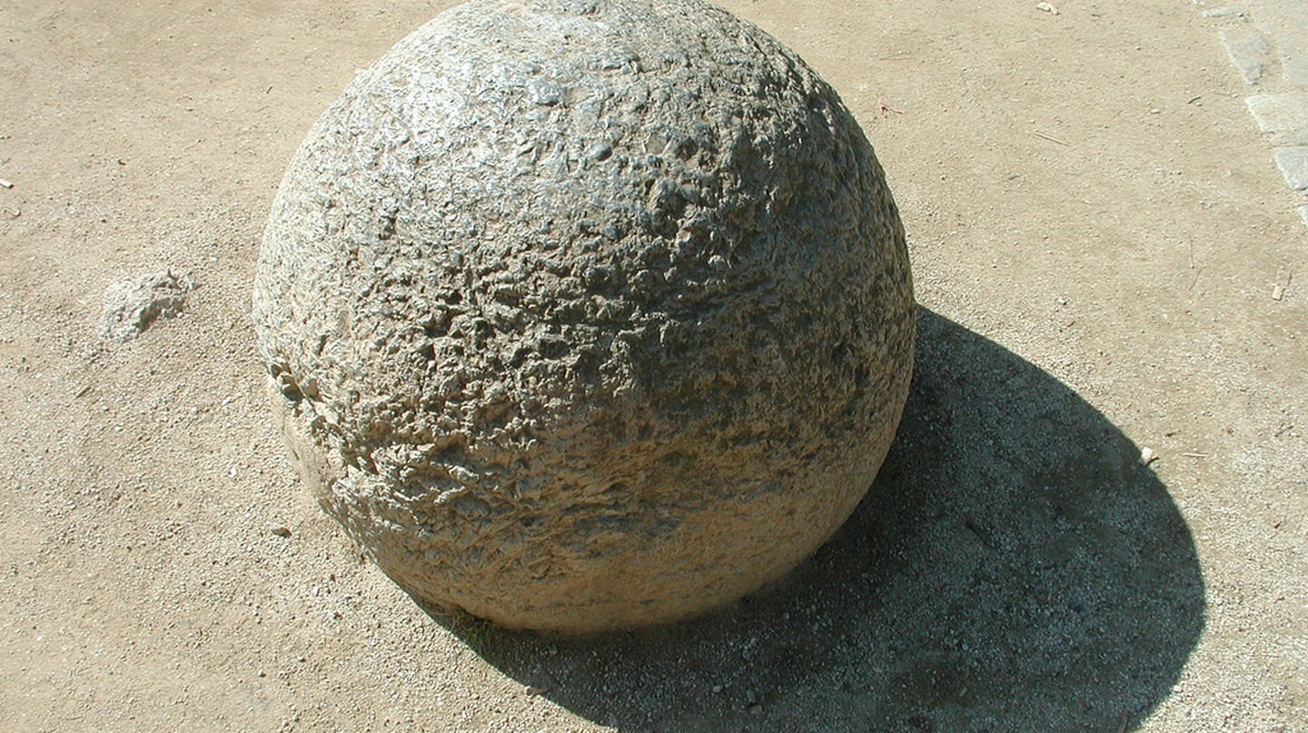 Stone Sphere | © Jared Tarbell/Flickr