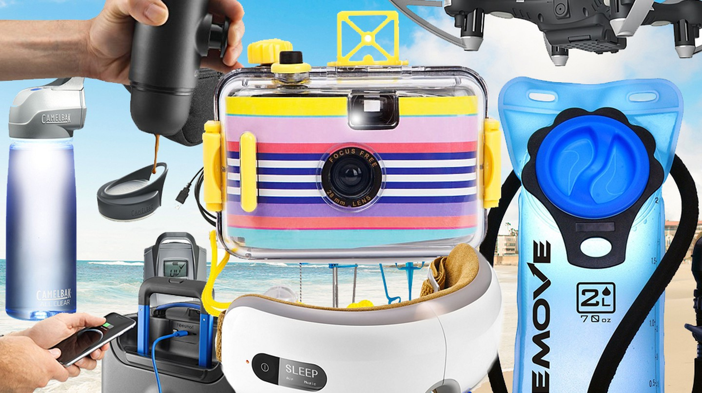 The best gadgets to enjoy on your summer travels | Courtesy Amazon, Bloomingdales