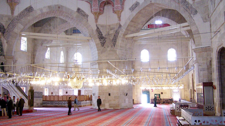 Üç Şerefeli Mosque  | © Darwinek/Wikimedia Commons