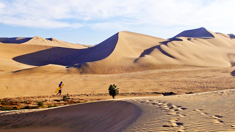 Sand dunes, Huacachina, Peru | © Justin Vidamo/Flickr