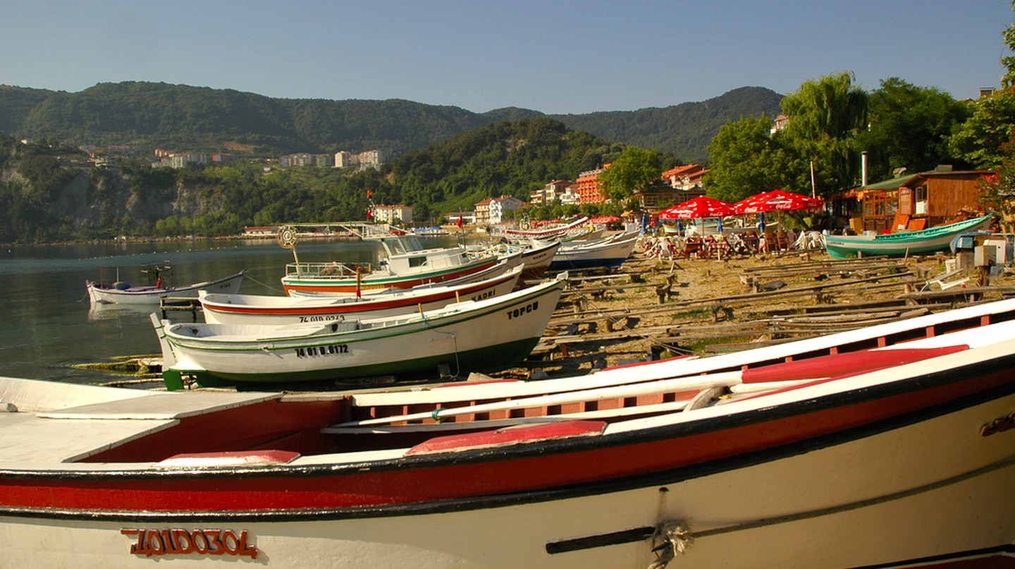 Amasra Beach | © Glen/Flickr