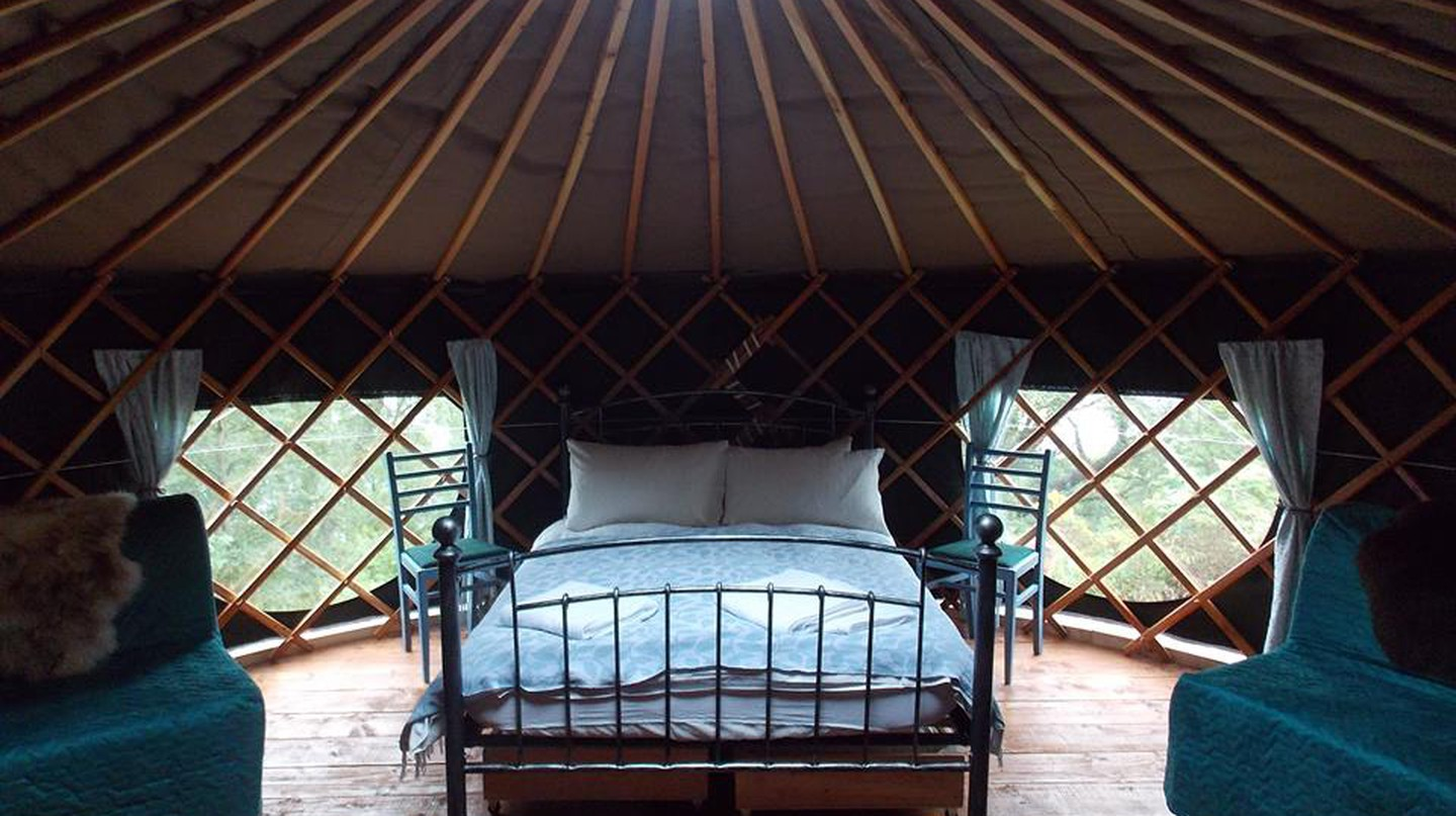 Inside a Black Isle Yurt | © Black Isle Yurts/Facebook