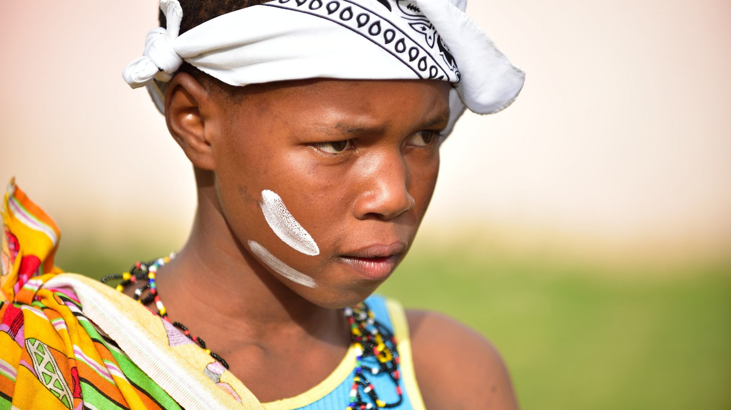 Xhosa girl, Eastern Cape, South Africa