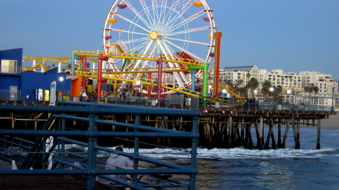 The Santa Monica Ferris wheel | © Matthew Bietz / Flickr