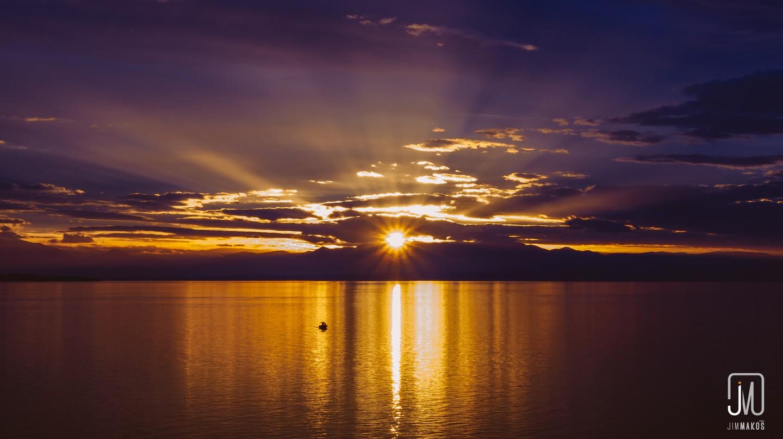Sunset over Thessaloniki | © Jim Makos/Flickr