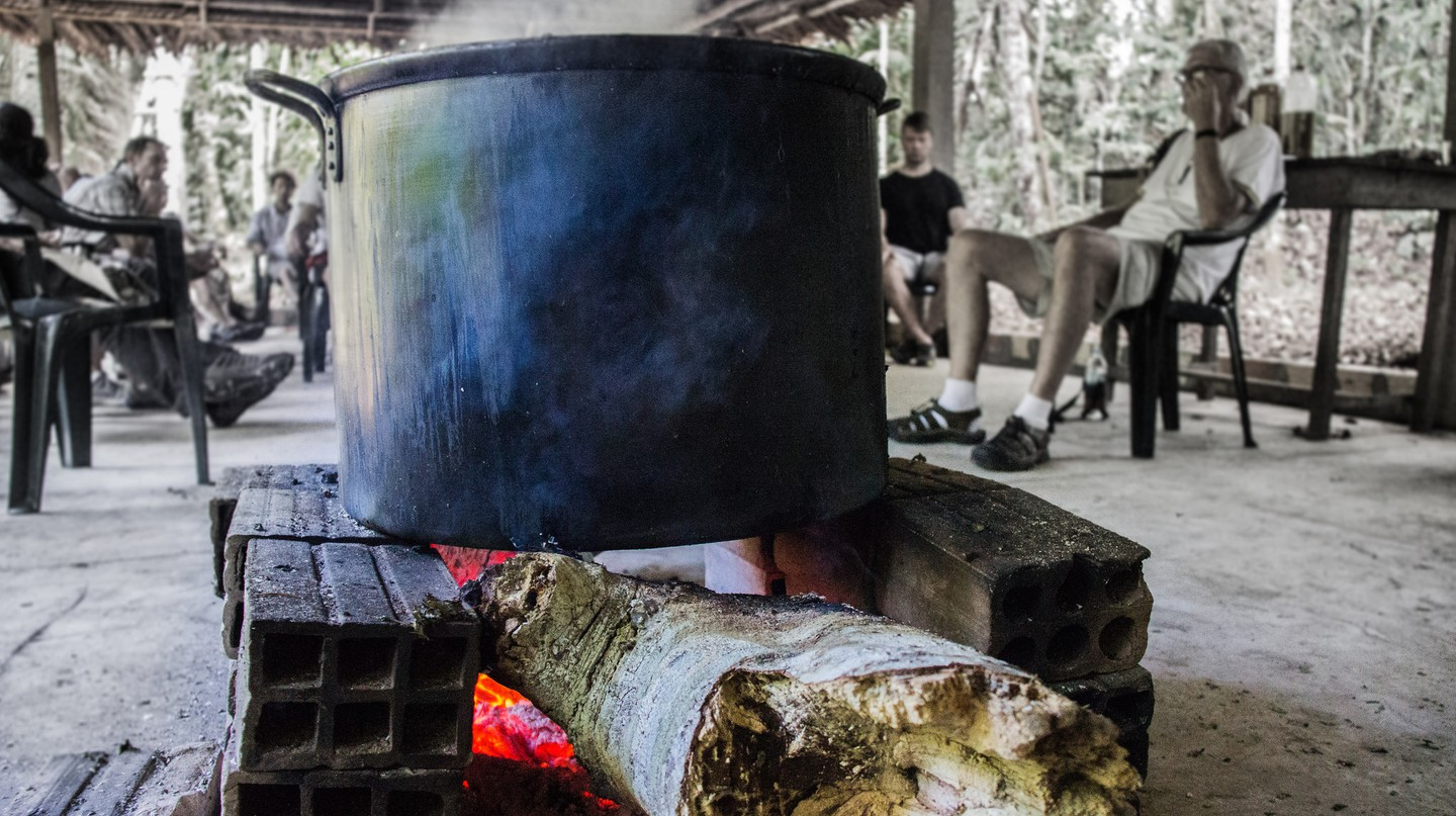 Brewing ayahuasca | © Apollo/Flickr