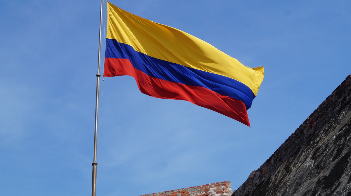Colombian flag | © Niek van Son/Flickr