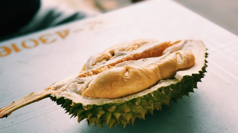 Durian Fruit Cut Open   © Nicholas Chan / Flickr