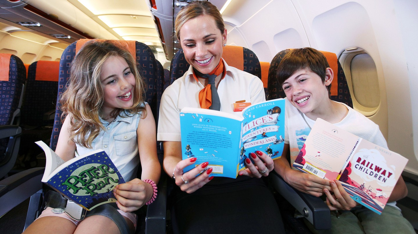 easyJet has launched an in-flight library | © PinPep/TaylorHerring/Shutterstock