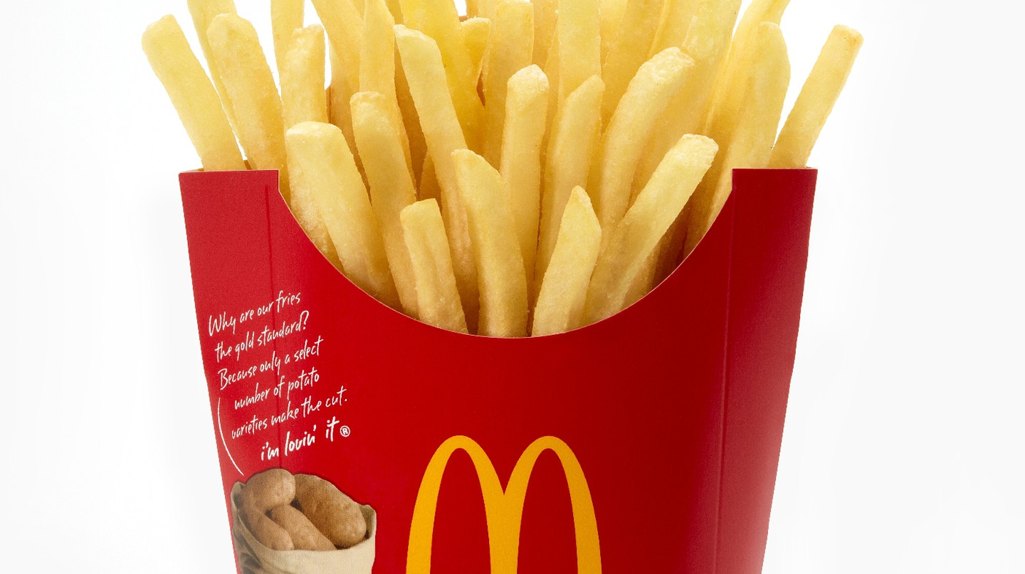"""An order of """"normal"""" fries 