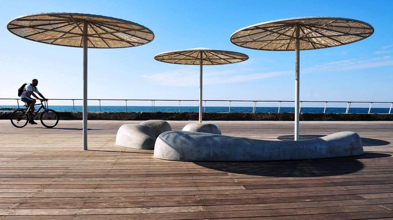 Tel Aviv beach boardwalk   Ⓒ Rafael Ben-Ari/Chameleons Eye /Flickr