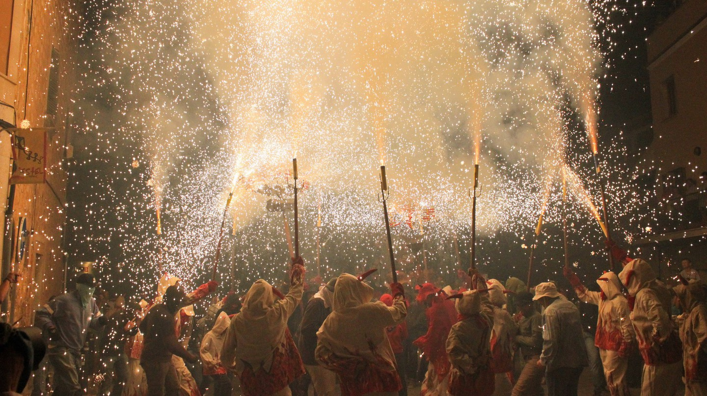 Correfoc celebrations I © Aina Vidal/Flickr
