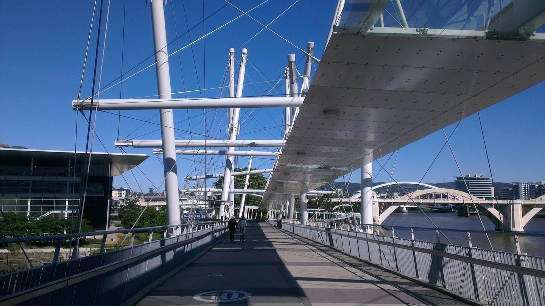 Brisbane City | © Kurilpa Bridge / Flickr