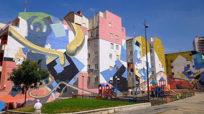 Avenida Kirikiño (barrio_de_Iralabarri) Bilbao | ©Zarateman / Wikimedia Commons