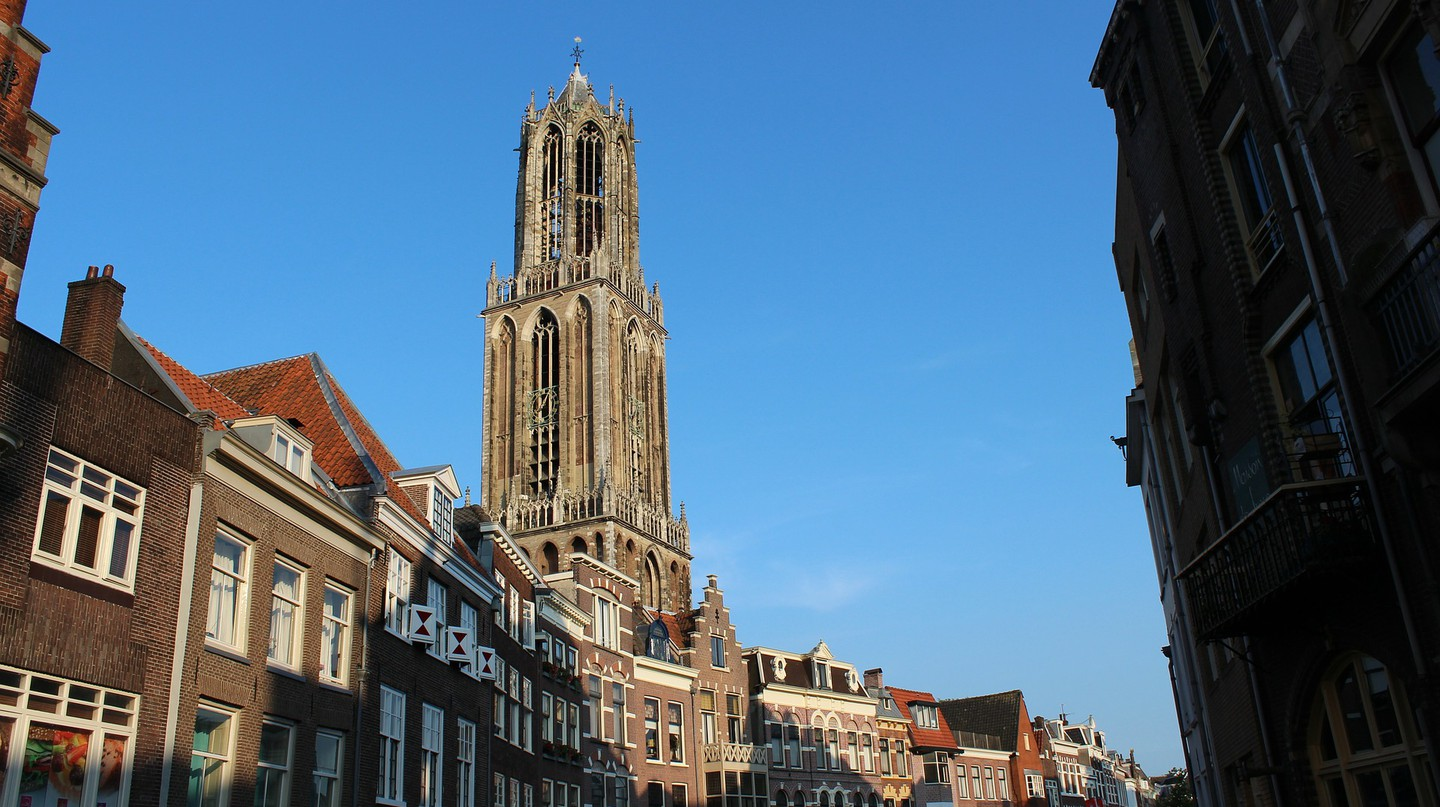 The Dom Tower and Utrecht's city centre | © pixabay