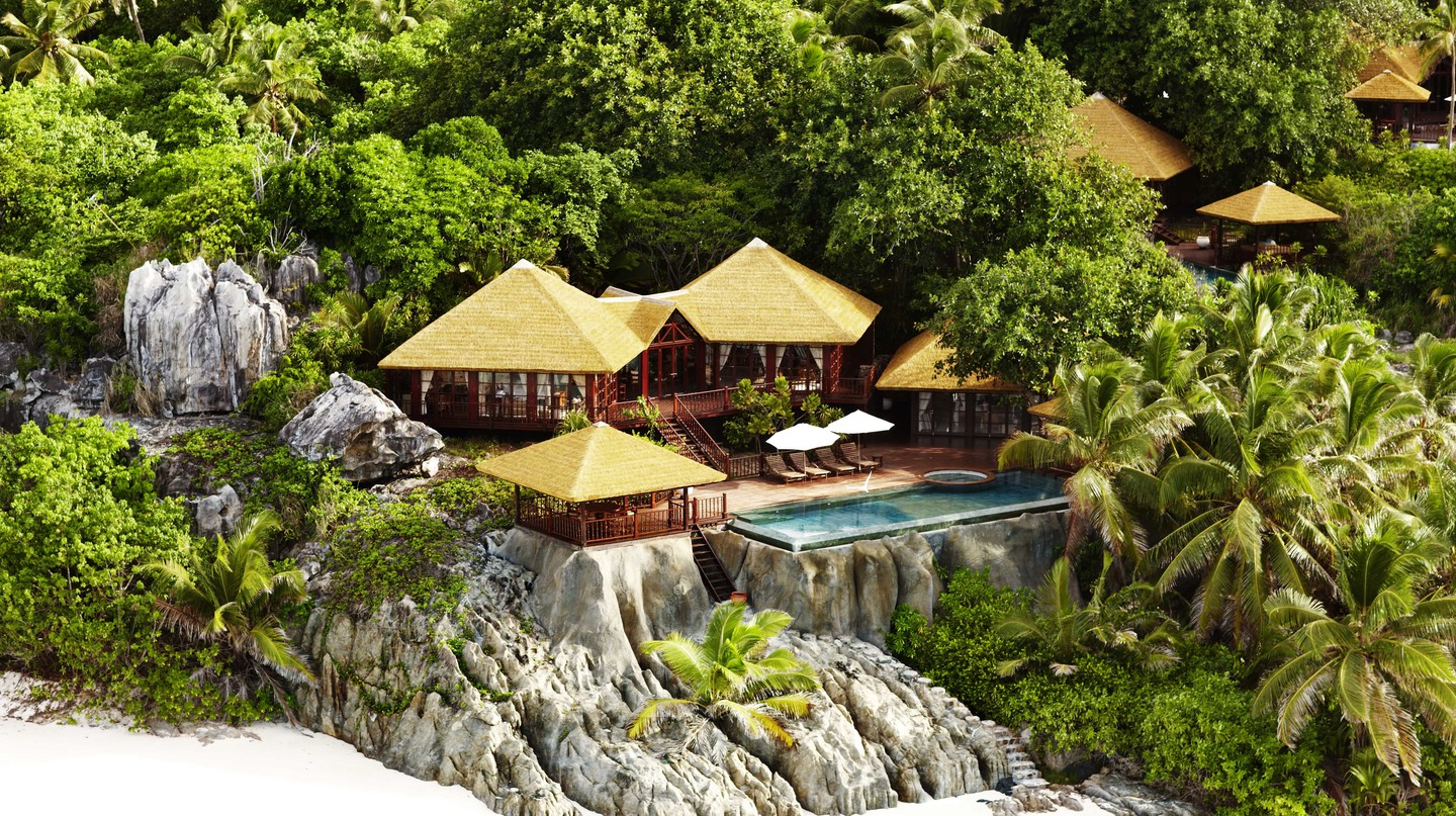Relax and enjoy at the stunning Fregate island Resort |Courtesy of Fregate Island Resort