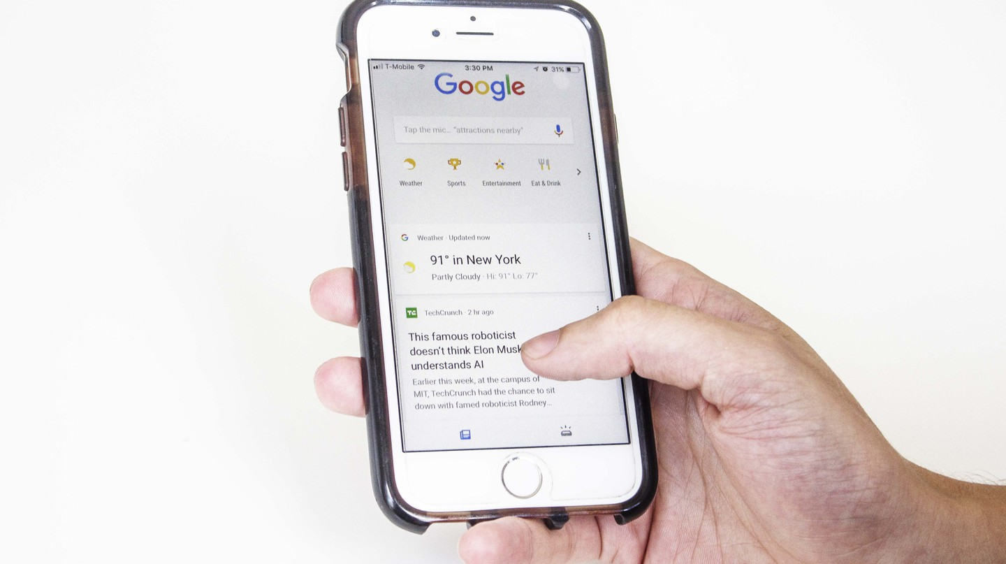 The new Google App | © Amanda Suarez/ Culture Trip