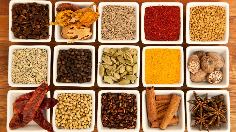 "<a href=""https://commons.wikimedia.org/wiki/File:Organic_garam-masala.jpg"" target=""_blank"" rel=""noopener noreferrer"">Indian Spices | © Joe mon bkk / Wikimedia Commons</a>"