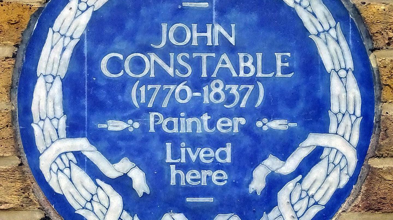 John Constables Blue Plaque   by Spudgun67