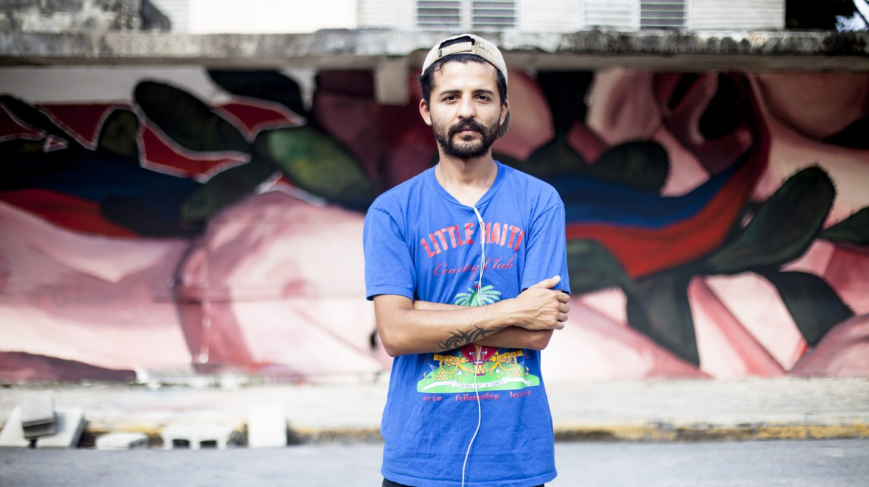 The Argentine muralist and painter Nicolas Romero, AKA Ever | Courtesy of Nicolas Romero