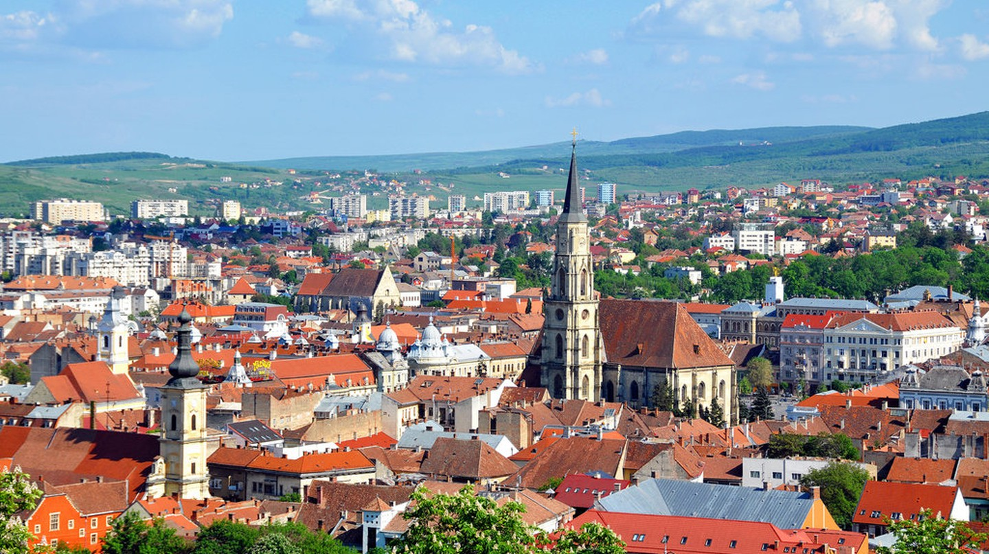 Cluj-Napoca cityscape  | © Dennis Jarvis / Flickr