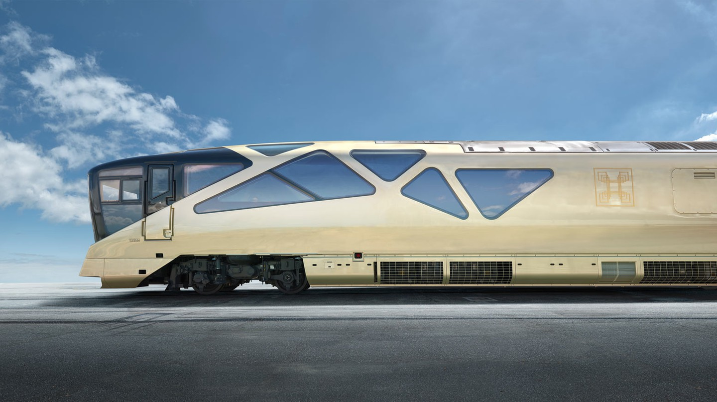 Luxury Japanese Shiki-Shima Sleeper Train is Out of this World