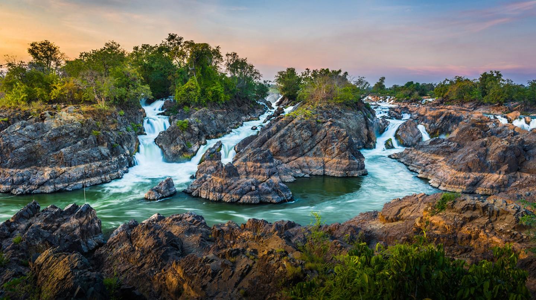 4000 islands at Champasak, Laos | © By Niti Kantarote / Shutterstock