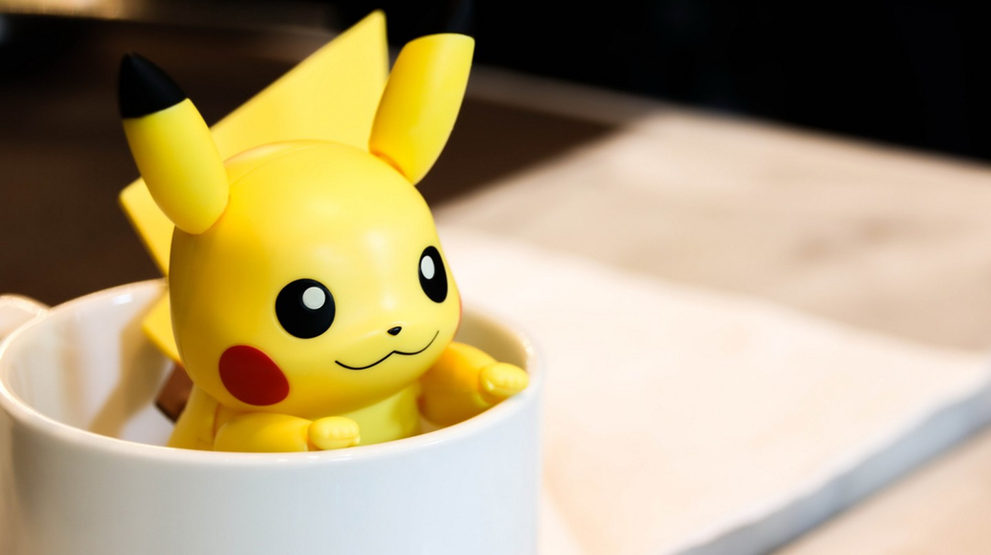 Pikachu in a cup | © small1 / Shutterstock