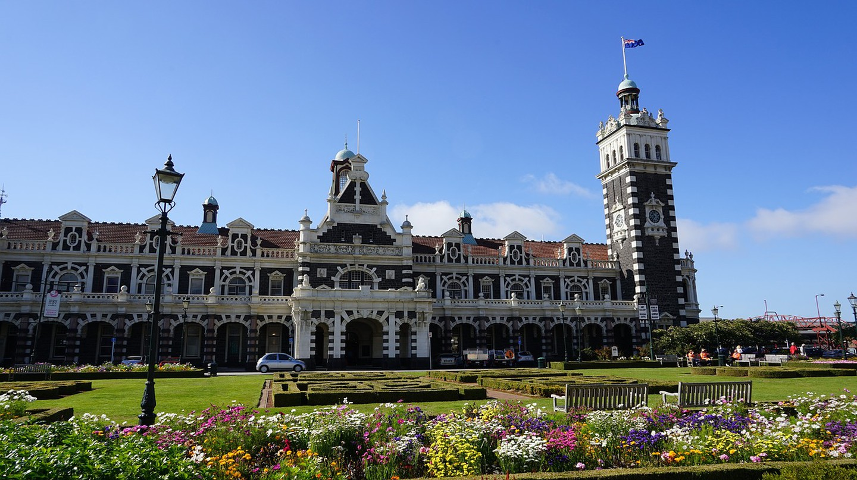 Dunedin Railway Station Building