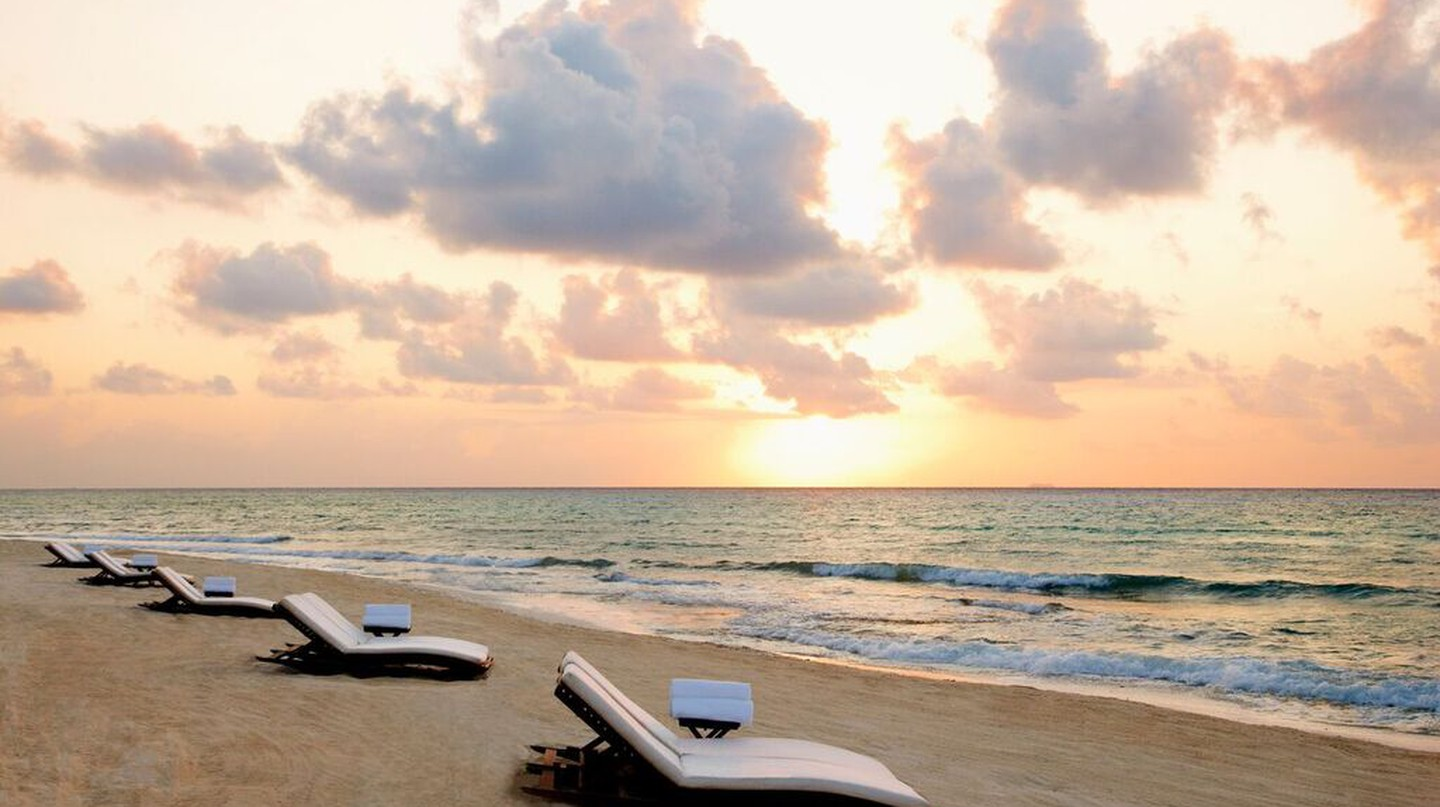 Sunrise at Viceroy Riviera Maya | Courtesy of Viceroy Riviera Maya