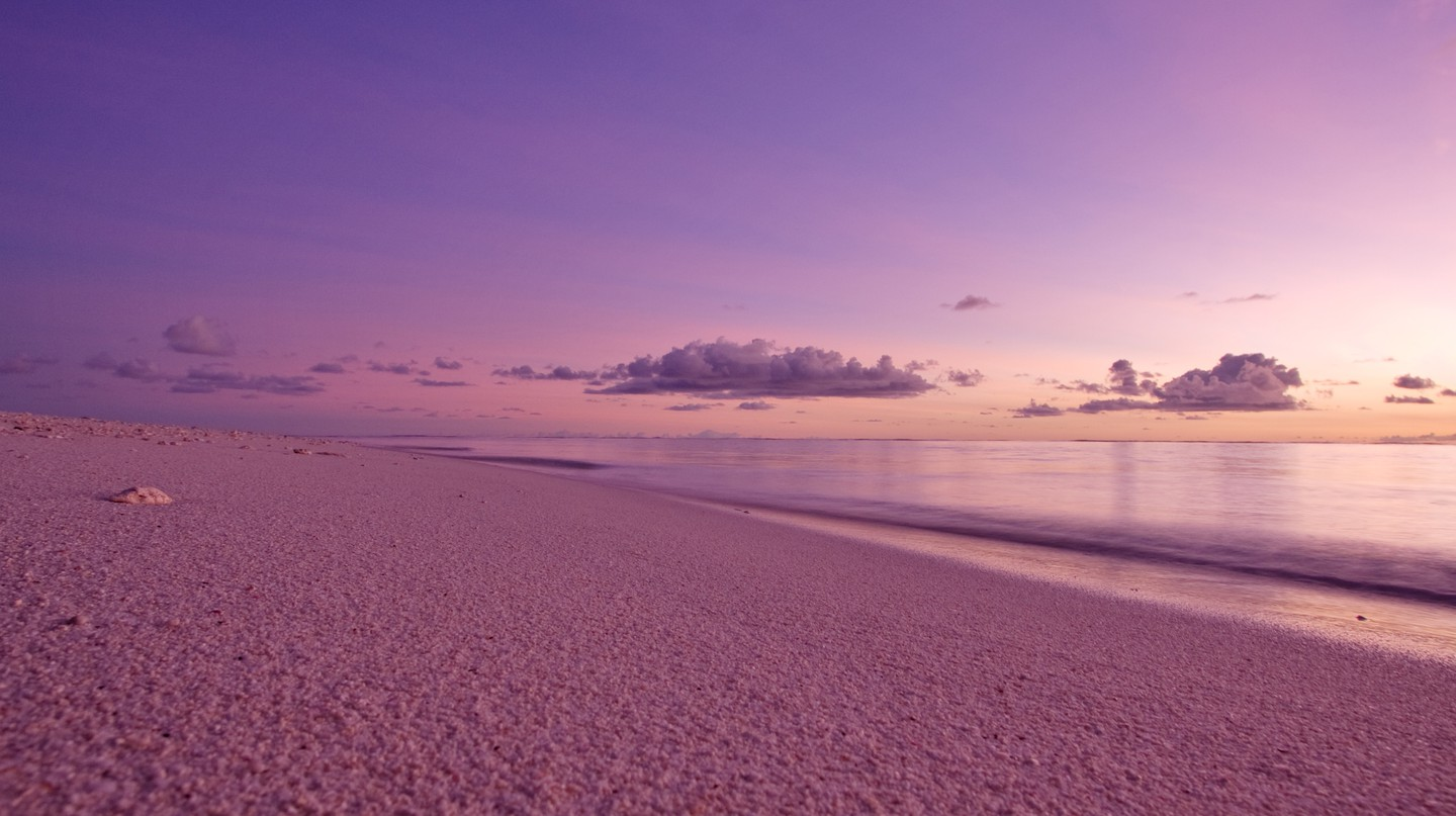 Purple sunsets at West Beach on Bird Island | Image courtesy of Bird Island Resort
